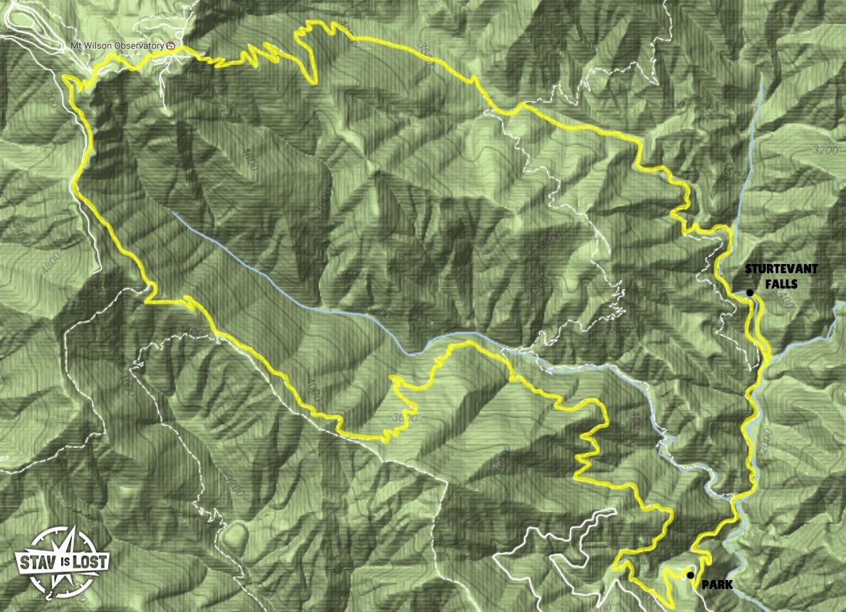Hiking Mt Wilson Via Gabrielino And Upper Winter Creek