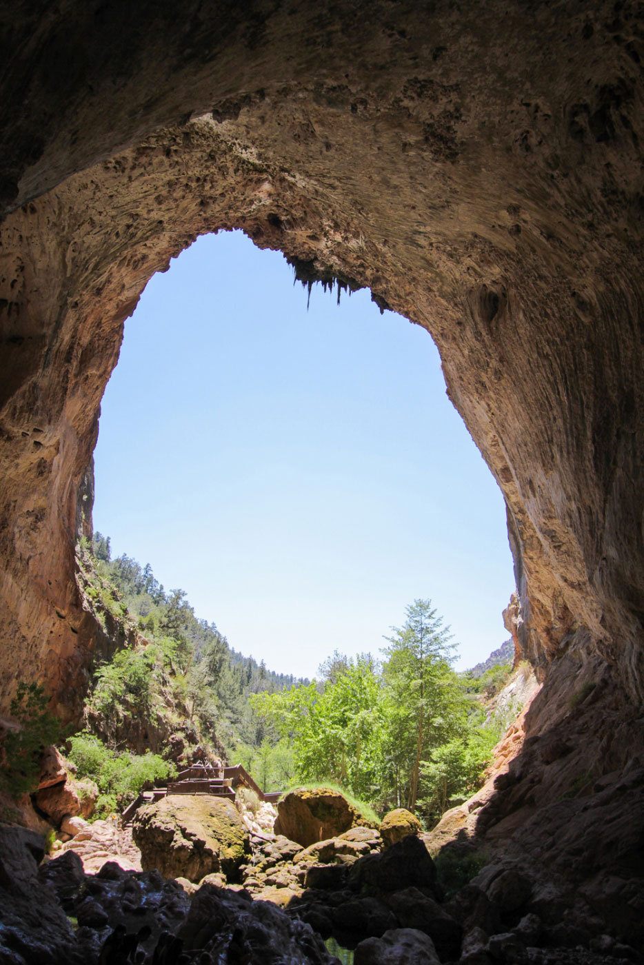 Hiking Difficulty To Tonto Natural Bridge State Park