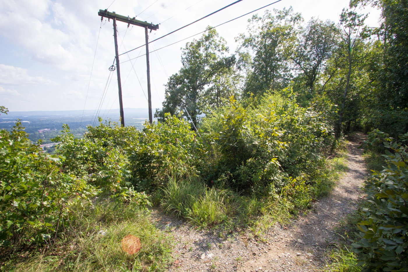 Hiking West Mountain via Sunset Trail in Hot Springs National Park