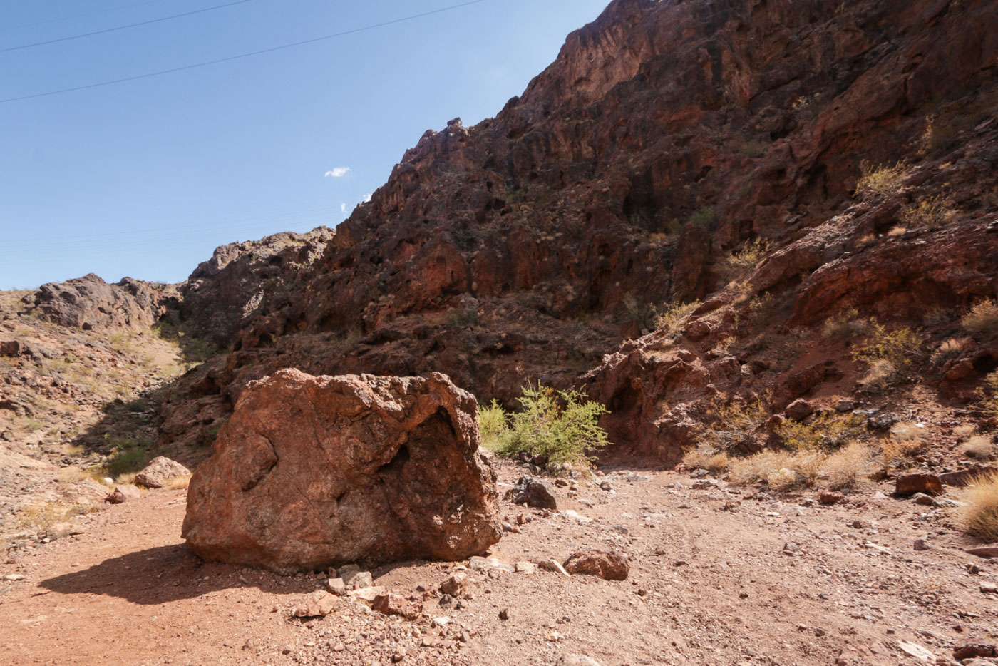 Hiking Gold Strike and Nevada Hot Springs in Lake Mead